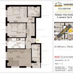 Apartamente de vanzare Titan - Pallady Villa Homes -3 camere tip B