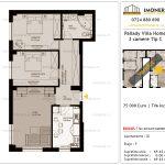 Apartamente de vanzare Titan - Pallady Villa Homes -3 camere tip C