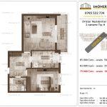 Apartamente de vanzare Dristor Residential 2 -2 camere tip H