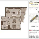 Apartamente de vanzare Mihai Bravu Residence 8 -2 camere tip B