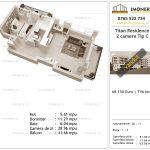 Apartamente de vanzare Titan Residence - 2 camere tip C