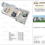 Apartamente de vanzare Titan Residence - 3 camere tip B