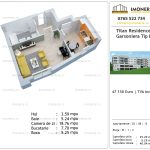 Apartamente de vanzare Titan Residence - garsoniera tip B