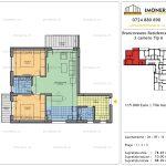 Apartamente de vanzare Brancoveanu Residence 12 -3 camere tip A