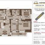 Apartamente de vanzare Dristor Residential 1 -3 camere tip B1