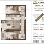 Apartamente de vanzare Dristor Residential 2 -3 camere tip B