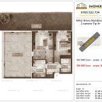 Apartamente de vanzare Mihai Bravu Residence 9 -2 camere tip B +