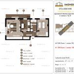 Apartamente de vanzare Aparatorii Patriei Apartments-2 camere tip B