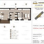 Apartamente de vanzare Delta View Homes-2 camere tip A