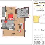 Apartamente de vanzare Mihai Bravu Residence 11 -2 Camere tip B