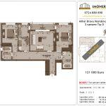 Apartamente de vanzare Mihai Bravu Residence 8 -3 camere tip D