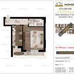 Apartamente de vanzare Siena Residence 3-Corp 2-Garsoniera tip A