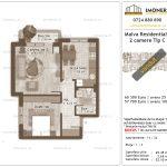 Apartamente de vanzare Titan - Malva Residential 1 -2 camere tip C