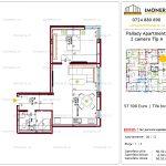 Apartamente de vanzare Titan - Pallady Apartments -2 camere tip A