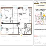 Apartamente de vanzare Titan - Pallady Apartments -3 camere tip A