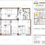Apartamente de vanzare Titan - Pallady Apartments -3 camere tip B