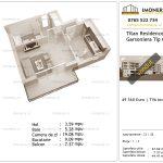 Apartamente de vanzare Titan Residence - garsoniera tip C