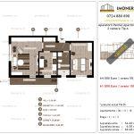 Apartamente de vanzare Aparatorii Patriei Apartments-2 camere tip A