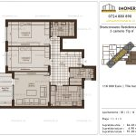 Apartamente de vanzare Brancoveanu Residence 11 -3 camere tip A'