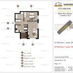 Apartamente de vanzare Delta View Homes-2 camere tip C'