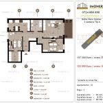 Apartamente de vanzare Delta View Homes-3 camere tip A