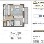 Apartamente de vanzare Pallady Boulevard Apartments -2 camere tip C2'