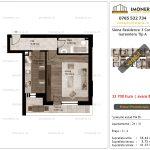 Apartamente de vanzare Siena Residence 3-Corp 1-Garsoniera tip A