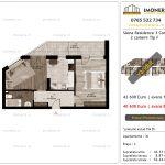 Apartamente de vanzare Siena Residence 3-Corp 3-2 camere tip F