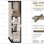 Apartamente de vanzare Siena Residence 3-Corp 3-2 camere tip H