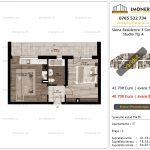 Apartamente de vanzare Siena Residence 3-Corp 3-Studio tip A
