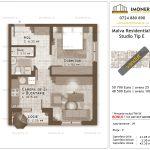 Apartamente de vanzare Titan - Malva Residential 1 -studio tip E