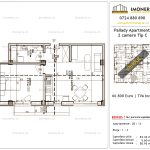 Apartamente de vanzare Titan - Pallady Apartments -2 camere tip C