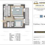Apartamente de vanzare Pallady Boulevard Apartments -2 camere tip A1'