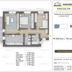 Apartamente de vanzare Pallady Boulevard Apartments -3 camere tip A1