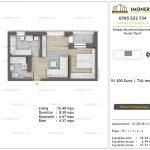 Apartamente de vanzare Pallady Boulevard Apartments -Studio tip A1