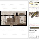 Apartamente de vanzare Siena Residence 3-Corp 1-Garsoniera tip B'