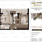 Apartamente de vanzare Siena Residence 3-Corp 1-Studio tip B'