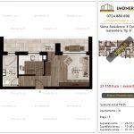 Apartamente de vanzare Siena Residence 3-Corp 2-Garsoniera tip B'