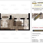 Apartamente de vanzare Siena Residence 3-Corp 2-Garsoniera tip B