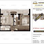 Apartamente de vanzare Siena Residence 3-Corp 2-Studio tip B'