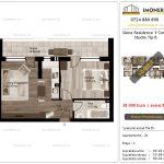 Apartamente de vanzare Siena Residence 3-Corp 2-Studio tip B
