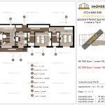 Apartamente de vanzare Aparatorii Patriei Apartments-3 camere tip B