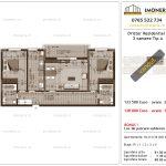 Apartamente de vanzare Dristor Residential 3 -3 camere tip A