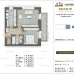 Apartamente de vanzare Pallady Boulevard Apartments -2 camere tip A4