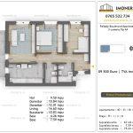 Apartamente de vanzare Pallady Boulevard Apartments -3 camere tip A4