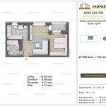 Apartamente de vanzare Pallady Boulevard Apartments -Studio tip A4