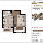 Apartamente de vanzare Siena Residence 3-Corp 1-Studio tip A