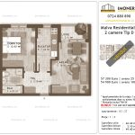 Apartamente de vanzare Titan - Malva Residential 1 -2 camere tip D