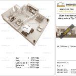Apartamente de vanzare Titan Residence - garsoniera tip C+