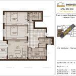 Apartamente de vanzare Brancoveanu Residence 11 -3 camere tip A